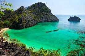 Beautiful clear lagoon