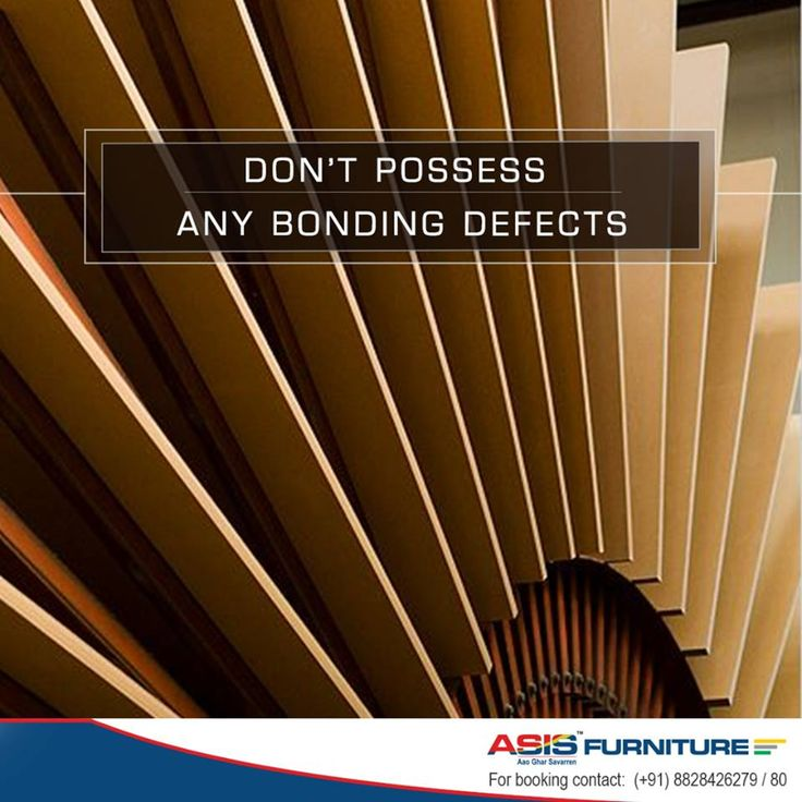 A lot of care is taken to create ASIS MDF boards, which is why they don't possess any bonding defects.  http://bit.ly/1TRUbB1