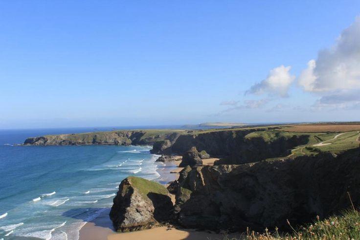 Bedruthan steps in Cornwall...breathtaking!