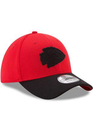 3d84e95b1 New Era Kansas City Chiefs Mens Red Logo Surge Flex Hat