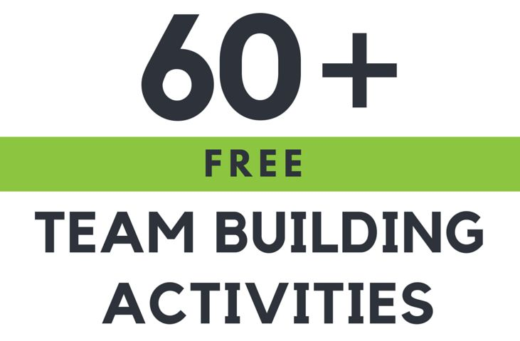 60+ Free Team Building Activities