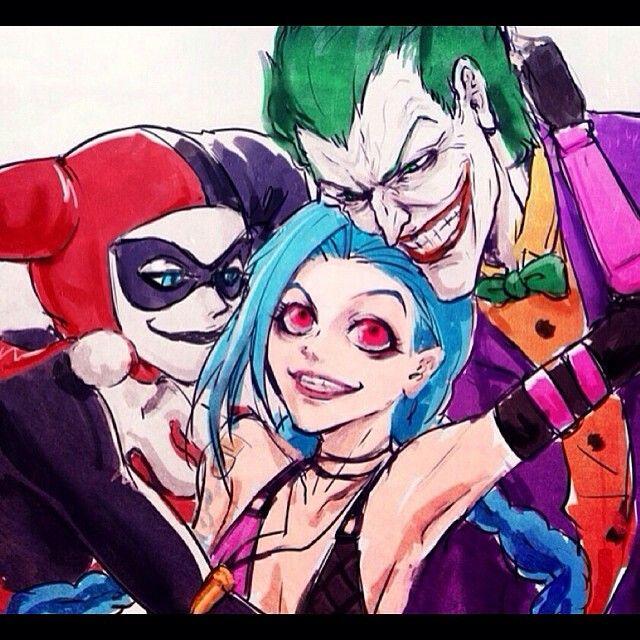 Jinx harley quinn and joker