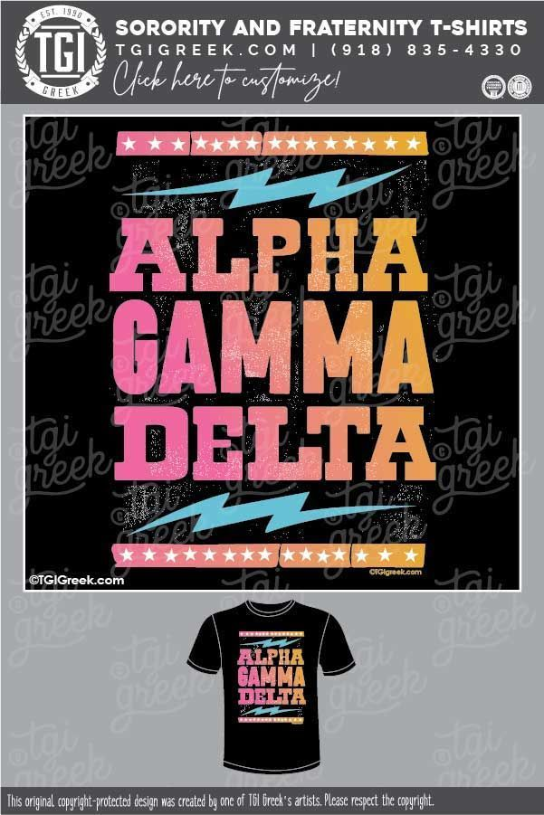 Alpha Gamma Delta Poster Pr Sorority Pr Design Library Tgi Greek Sorority Pr Sorority Shirts Sorority Merchandise