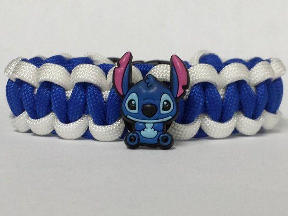 Lilo and Stitch Bracelet,  Stitch Bracelet, Lilo and Stitch Jewelry, Blue and White Bracelet, Lilo and Stitch Custom Bracelet. 26 Colors