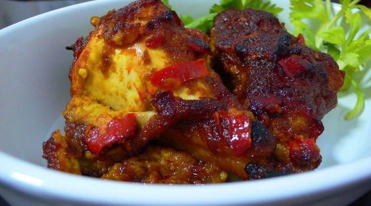 Resep dan Cara Membuat Ayam Bakar Nikmat Bumbu Rujak