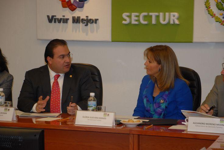 El gobernador Javier Duarte de Ochoa comentó que el turismo es una herramienta fundamental para la reactivación de la economía estatal, por lo que es necesario contar con el respaldo del gobierno federal y, en conjunto, desarrollar las grandes potencialidades que tiene la entidad veracruzana.