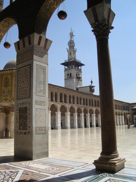Ummayad mosque an architectural analysis