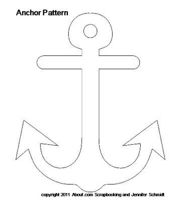 Anchor - Maybe use as monthly coloring page to go along with cute saying outside the door