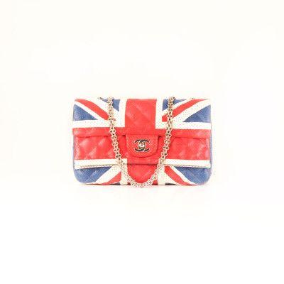 Chanel Double Flap Union Jack Flag | CBL Bags