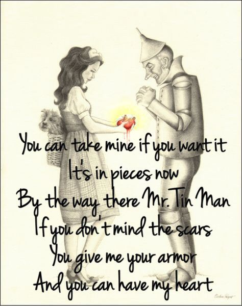 the 25 best tin man lyrics ideas on pinterest tin man