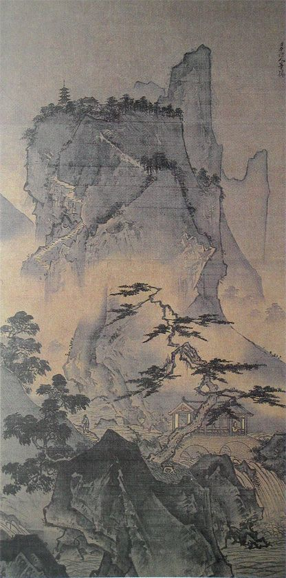 40 Ink Painting Ideas For Inspiration: 40 Best Images About Sesshu Toyo(1420