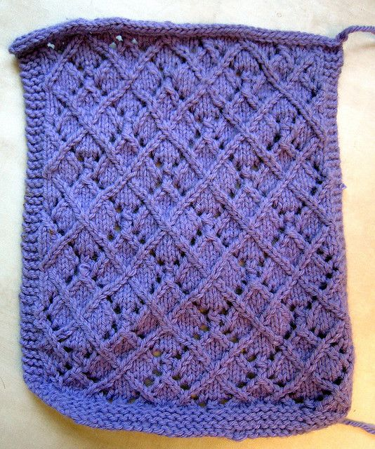 """Lace """"Argyle"""" swatch by fuzzyjay, via FlickrBrooklyn Tweed, Crafts Ideas, Lace Twists Stitches, Lace Pattern, Argyle Pattern, Free Pattern, Lace Argyle, Twists Stitches Argyle, Knits Pattern"""