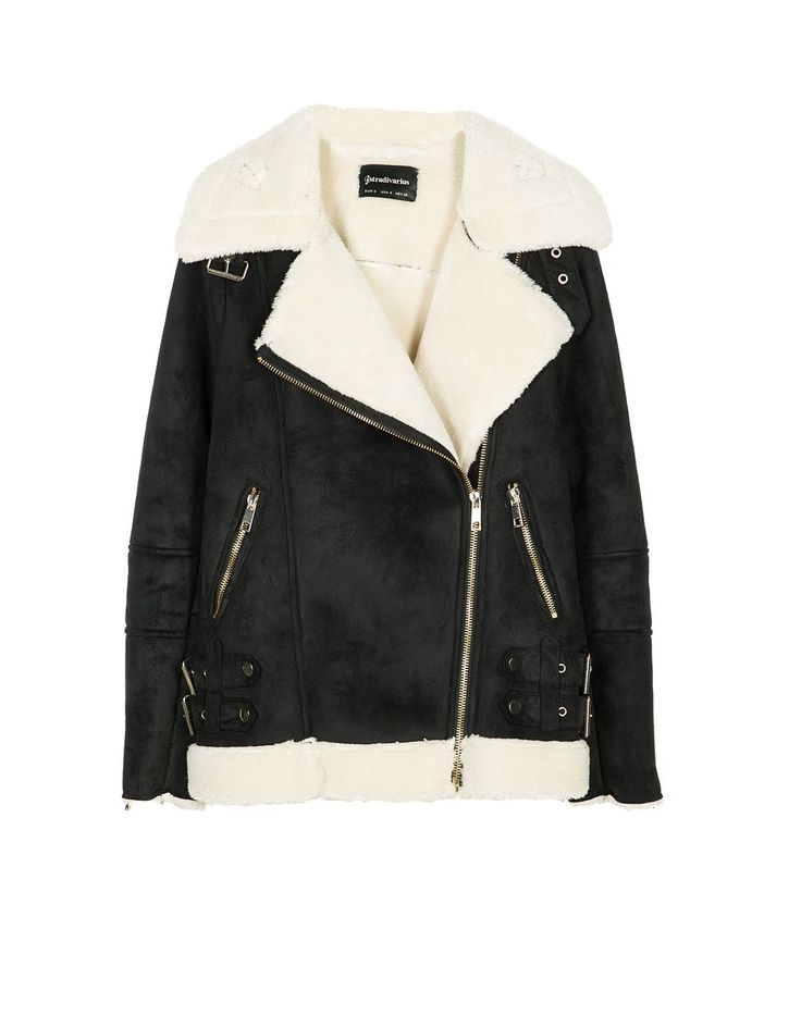 At Stradivarius you'll find 1 Two-tone double-sided biker jacket with belt for just 1499 Ukraine . Visit now to discover this and more Jackets.
