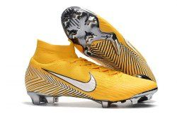 55e1699ad97 Interesting Nike Mercurial Superfly 360 Elite FG Neymar Yellow Amarillo  White Black Men s Soccer Shoes