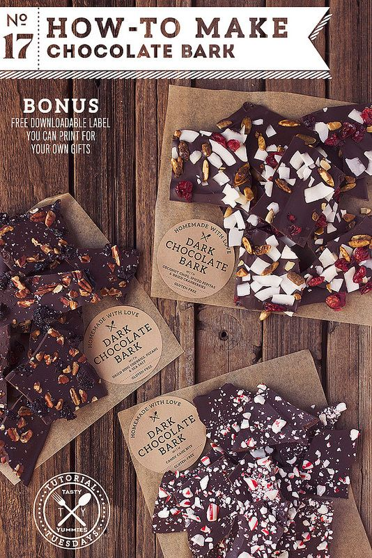 How-to Make Chocolate Bark // @tastyyummies // www.tasty-yummies.com