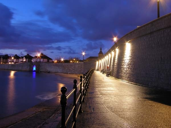 The Town Wall and the Fish Sands, Hartlepool, England