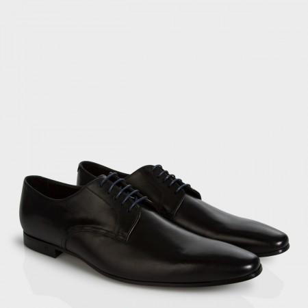 Paul Smith Men's Shoes - Black Leather Taylors Derby Shoes