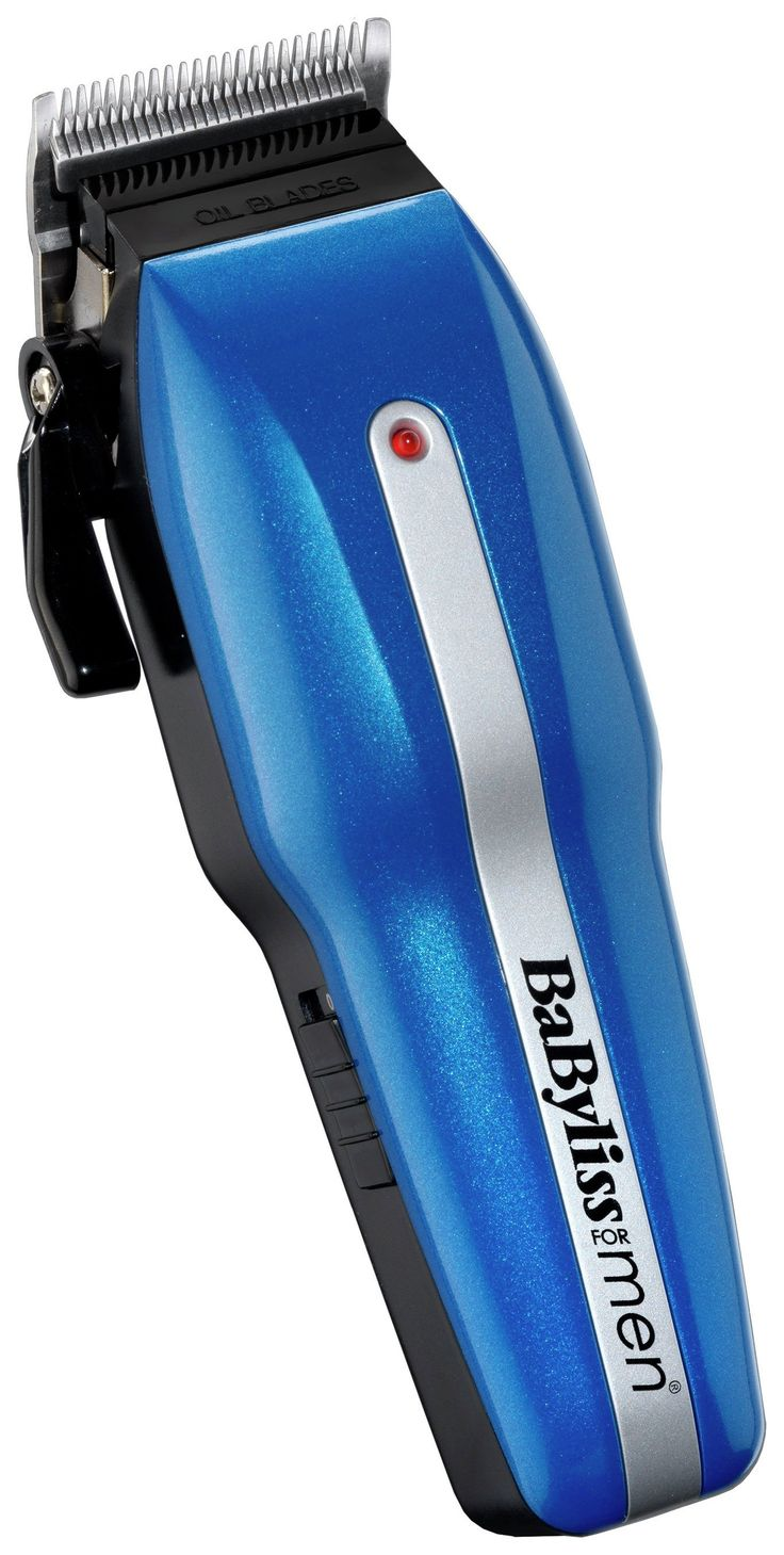 BaByliss - for Men - PowerLight Pro 7498CU - Hair Clipper Set: This professional mains or cordless operation hair clipper from BaByliss is…