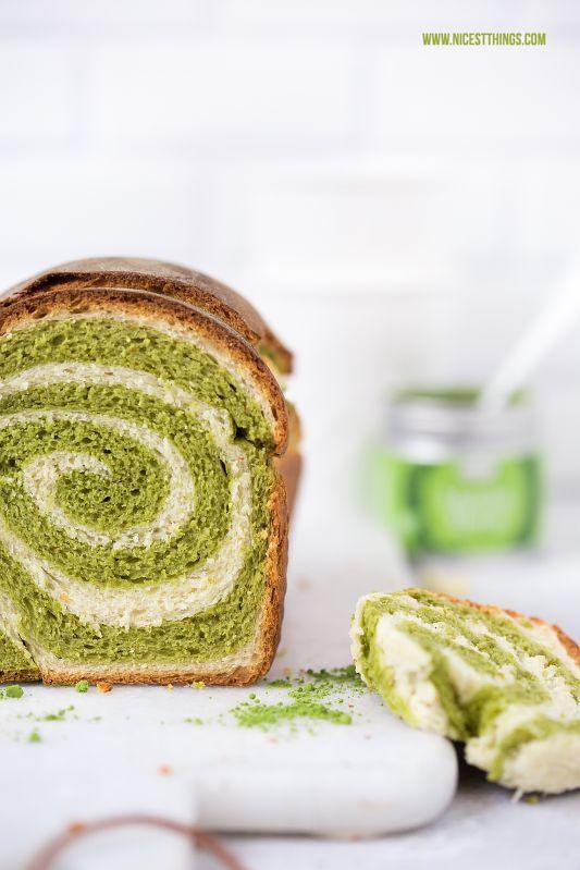 Matcha Spiral Kuchen mit Thermomix Rezept