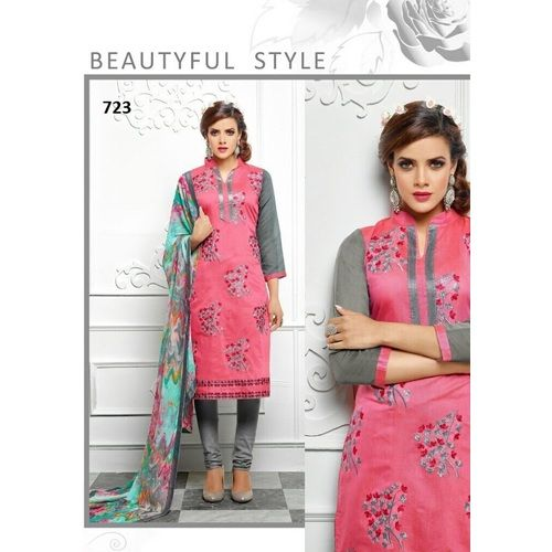 Saiveera New Gorgeous Pink Chanderi Unstitched Dress Materials_sv722 Saiveera Fashion is a #Manufacturer Wholesaler,Trader, Popular Dealar and Retailar Of wide Range Salwar Suit, Dress Material, Saree, Lehnga Choli, Bollywood   Collection Replica, and Also Multiple Purpose of Variety Such as Like #Churidar, Patiala, Anarkali, Cotton, Georgette, Net, Cotton, Pure Cotton Dress   Material. For Any Other Query Call/Whatsapp - +91-8469103344.