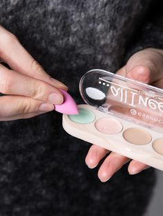 Jetzt gibt es die Micro Mini Beautyblender auch von ebelin #beautyblenderhacks