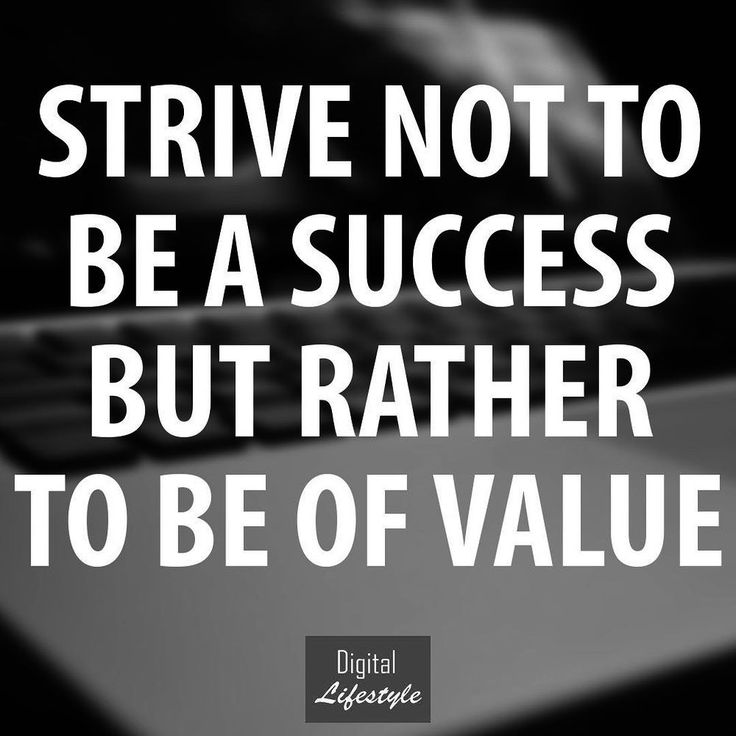 Offer value and success will follow. ALWAYS