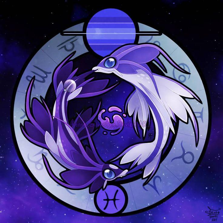 Zodiac Dragons: Pisces by FennecSilvestre | Anime zodiac