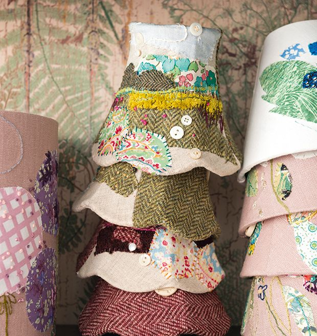 handmade lampshades by Marna Lunt