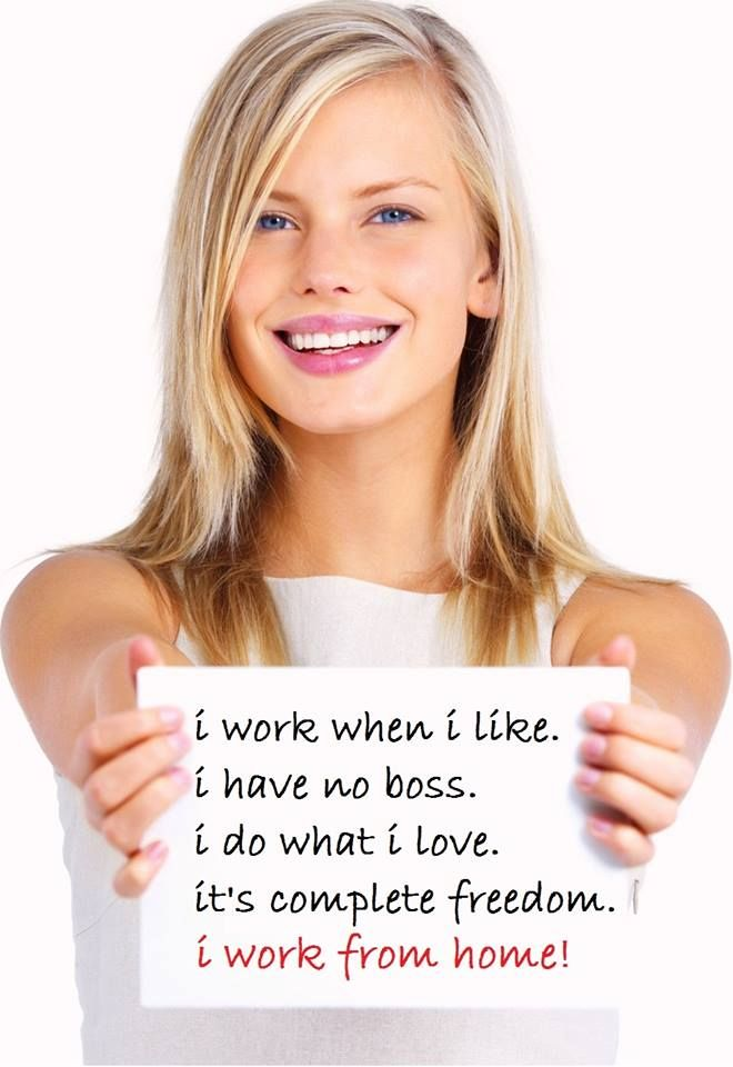 Want to work from home and have the FREEDOM and FLEXIBILITY of building a stable and financially secure business around what you love and need to do on a daily basis? Want to be your own boss? Then please contact me https://www.facebook.com/ForeverHealthy2014