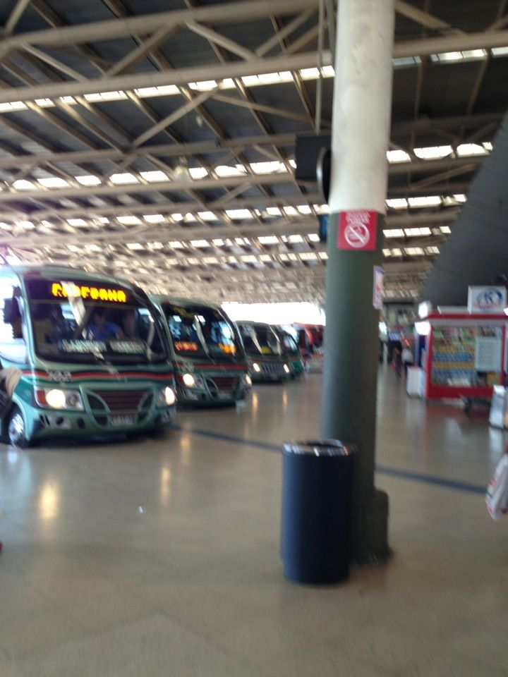 Terminal de Buses San Borja in Estación Central, Metropolitana de Santiago de Chile.  la estación de autobuses duerma cerca . el precio puede variar. Es centro