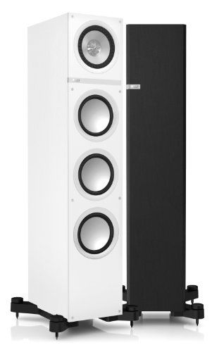 KEF Q900WH Floorstanding Loudspeaker - White (Single), We present to you the flagship of the Q Series: The magisterial Q900. These effortlessly assertive performers are capable of flooding the room with an intricate and intensely physical soundstage., #Electronics, #Floorstanding Speakers