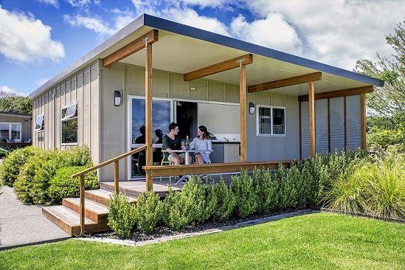 Lake View Villas at Taupo DeBretts Spa Resort, New Zealand.