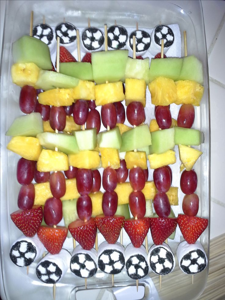 It's my week for soccer snacks! The kids loved them and its healthy.