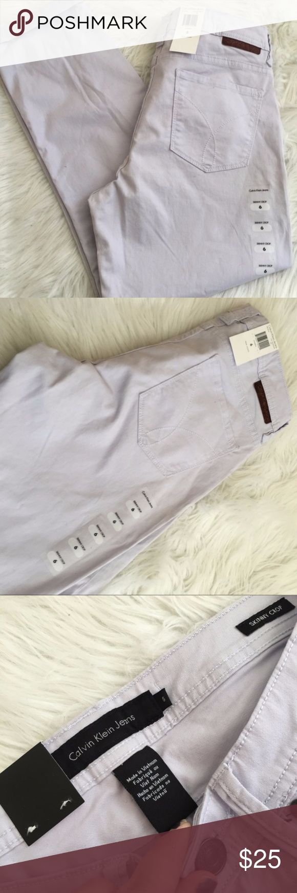 calvin klein skinny crop jeans NWT , send me an offer , always next day shipping Calvin Klein Jeans Ankle & Cropped