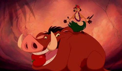 Carnada!!! - Hoy dejo una foto muy divertida de Timon y Pumba cuando hacen de carnada para las hienas...... [b]Recuerden votar x el proximo especial (Mascotas Disney):[/b] *Los Aristogatos +49 *La dama y el vagabundo +50 *101 Dalmatas 2: La gran aventura de Patch +24 - Fotolog
