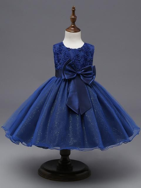 Flower Sequins Princess Dresses | Furrple