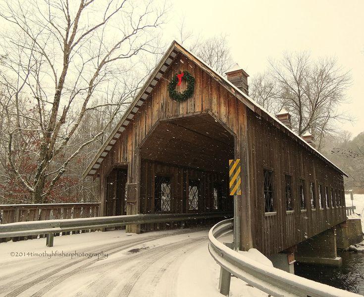 Covered Bridge  Pittman Center,TN  TimothyhFisherphotography