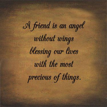 angel sayings for friends - photo #16