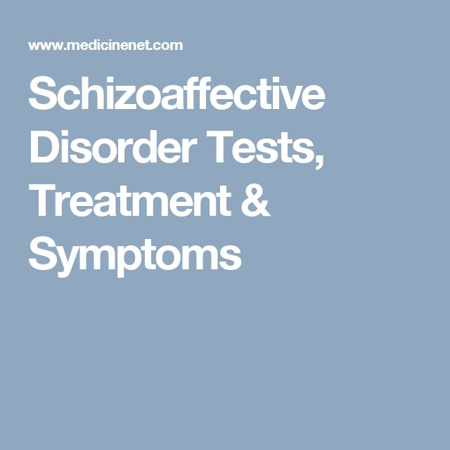 Natural Treatment For Schizoaffective Disorder