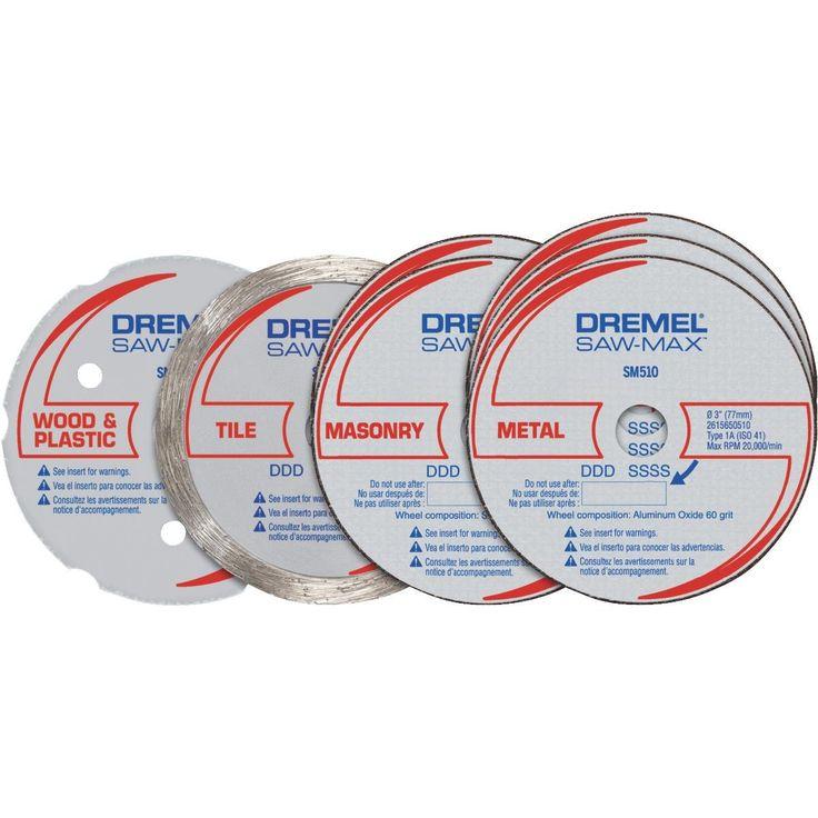 Dremel Saw Max Cutting Kit, Silver cement