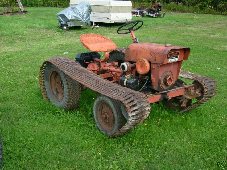Power King Tractor Vintage Lawn Mowers Pinterest