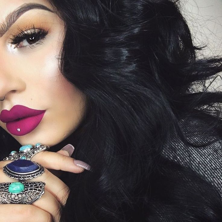 """ourfazinali """"This new Oooh La La matte lip paint by @colouredraine tho  (use code ourfa at checkout to save)"""""""