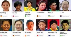 Crazy diversity at Olympic Table Tennis - Rio 2016!