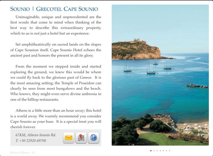Reveal Athens - Grecotel Cape Sounio