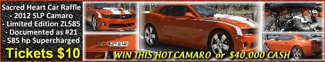 www.allcollectorcars.com Win A Hot Camaro