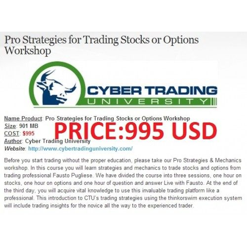 Option trading workshops