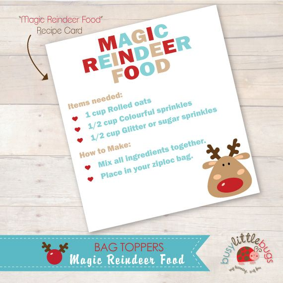 MAGIC REINDEER FOOD MULTI RECIPE
