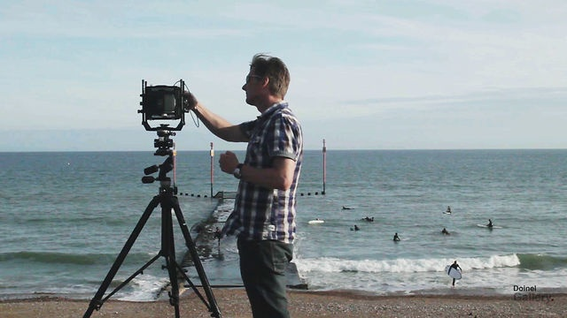 Tony Ellwood - Shooting for the project 'In No Time'