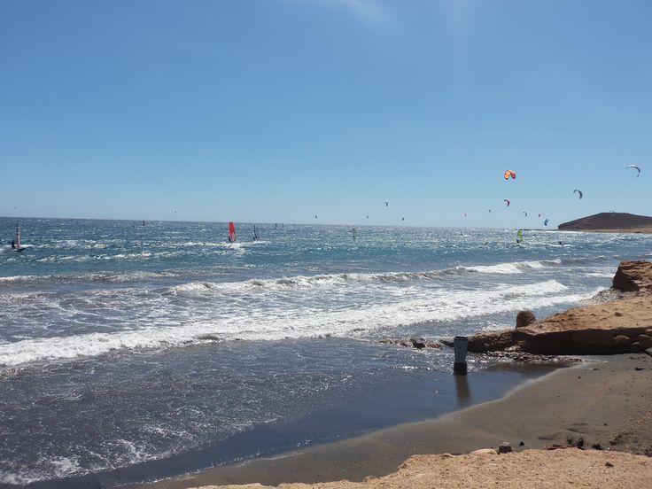 El Medano surf paradise surfing traveling