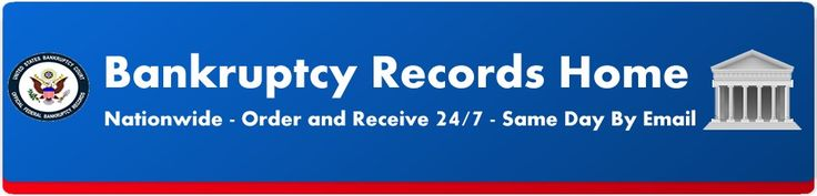 US Bankruptcy Records is #1 source of bankruptcy records, bankruptcy discharge papers of Federal Bankruptcy Court Records to individuals, banks, real estate brokers etc. Visit:  http://us-bankruptcy-records.com/
